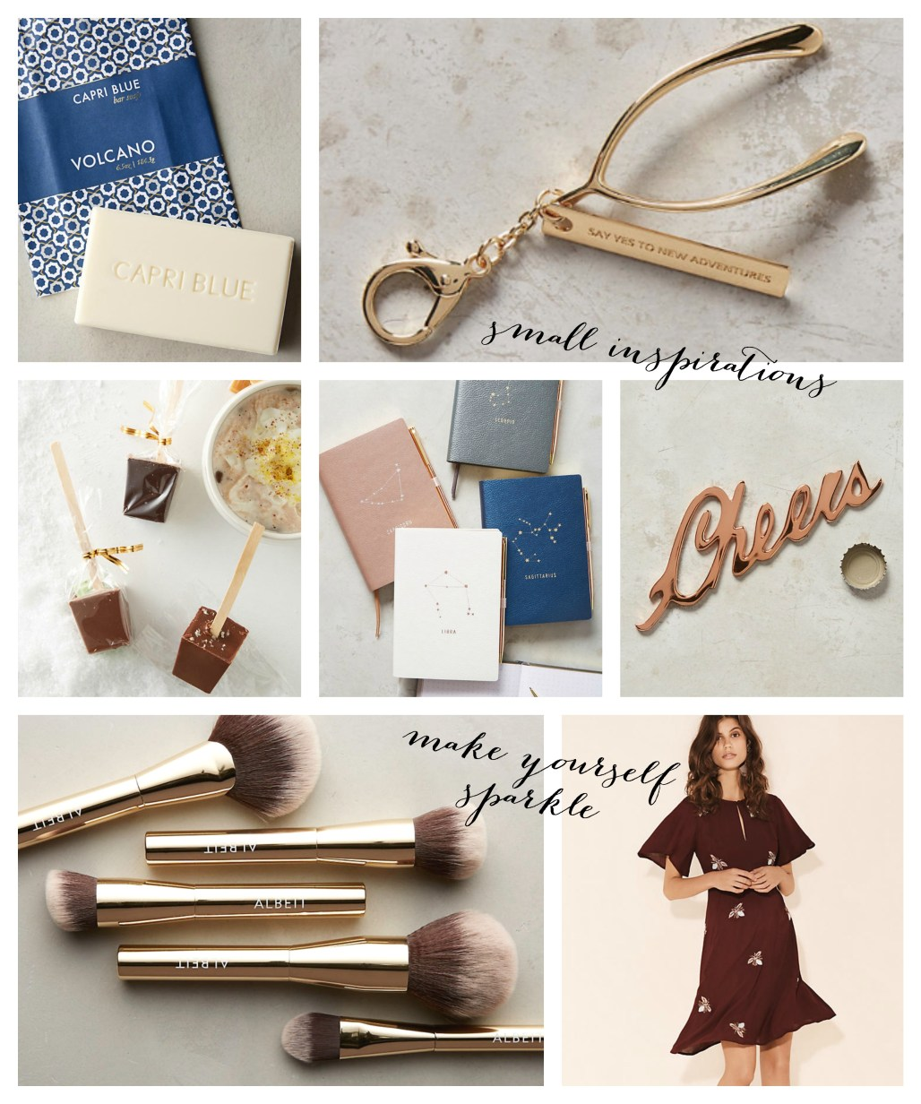 Anthropologie Gift Guide | Dreamery Events