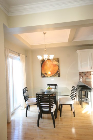 Photo: Kitchen eating area
