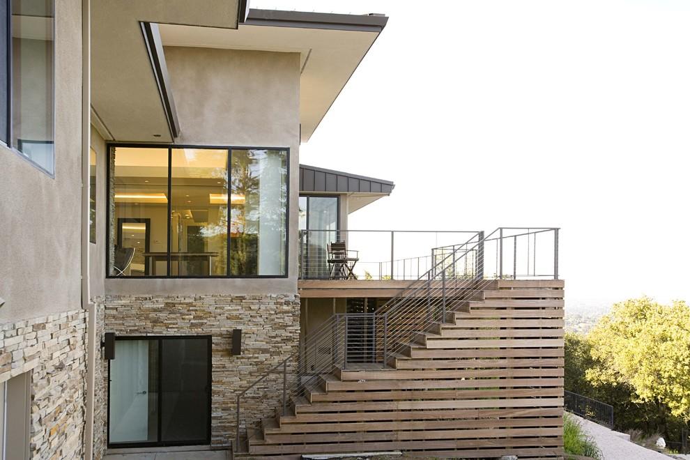 Olive Tree Lane Contemporary Exterior by Mark English Architects AIA, San Francisco, CA