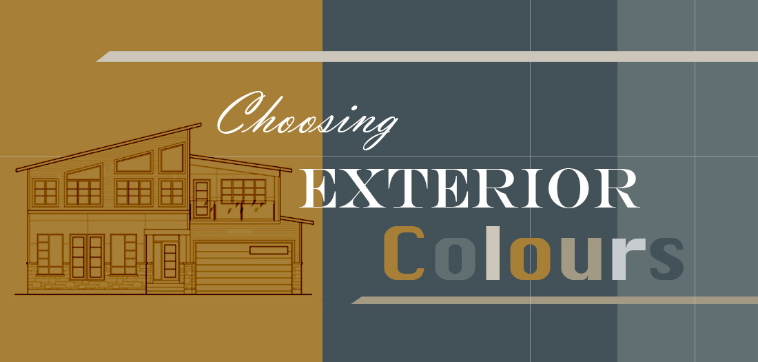 Choosing Exterior Colours - The Dreamhouse Project