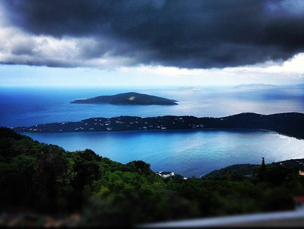 View from Mountain Top, St. Thomas, U.S.V.I