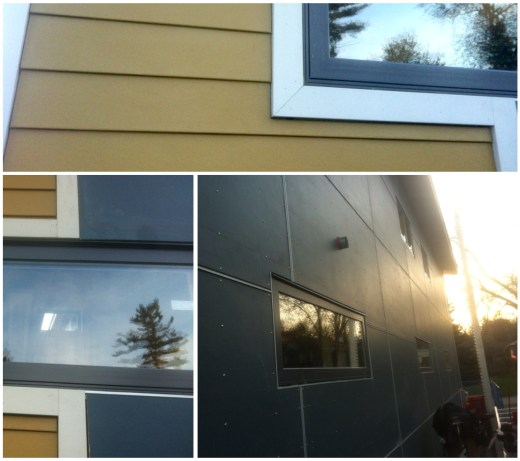 Sneak peek at the Dreamhouse exterior progress