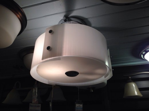 Osso City Lighting drum shade fixture
