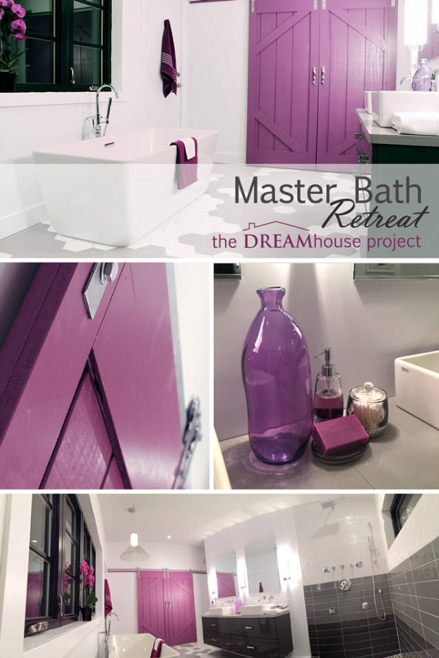 Master Bath Retreat | The Dreamhouse Project