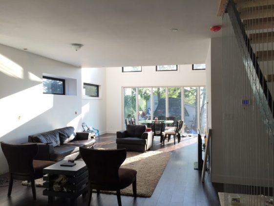 Dreamhouse - main floor, family room before