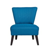 Occasional chair in blue