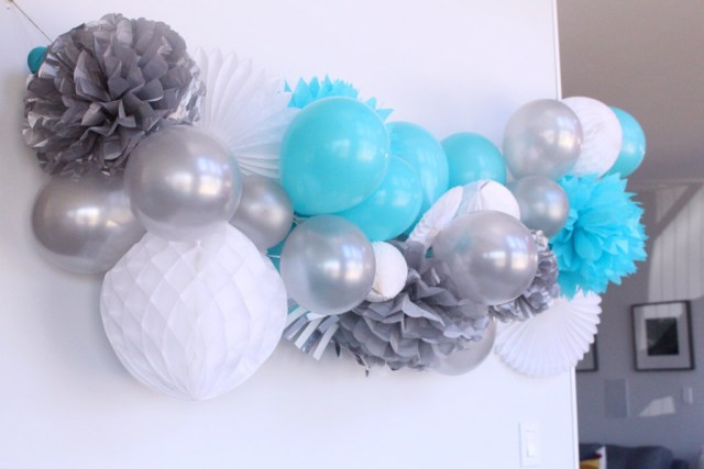 Oversized party garland - Year of Feasting