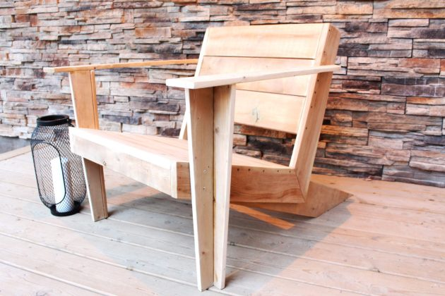 DIY Modern Muskoka Chair