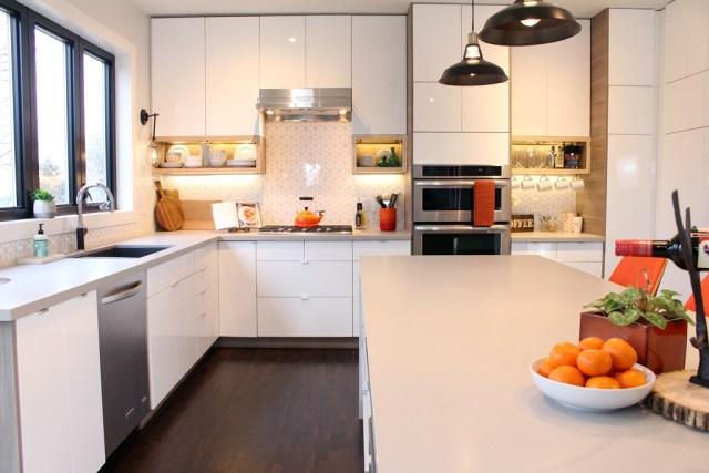 The Dreamhouse Project - Our Dream Kitchen featuring beautiful quartz countertops from HanStone Quartz Canada
