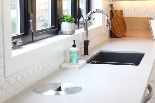 The Dreamhouse Project - Dream Kitchen Reveal featuring BLANCO Solon compost system