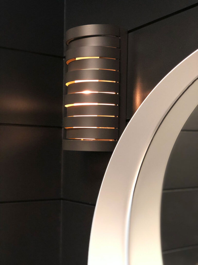 LOVE these stunnng Roswell sconces from Kichler Lighting