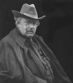 GK Chesterton, 1922
