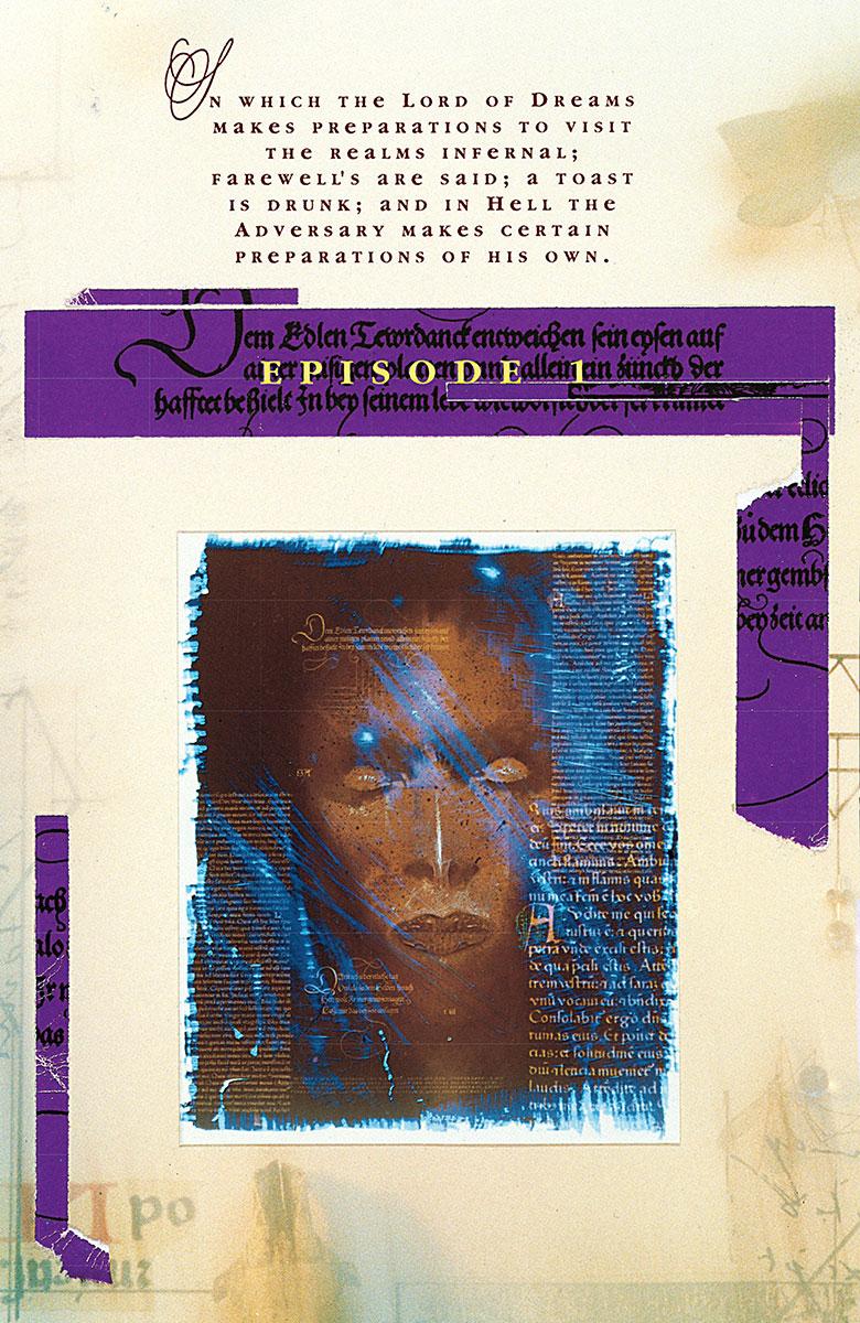 The Sandman 22 cover