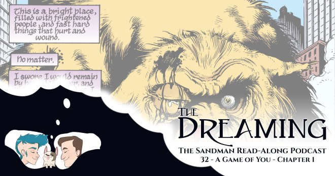 The Dreaming - 29 - The Sandman 32 - Titlecard