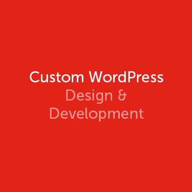 Custom WordPress Design & Development
