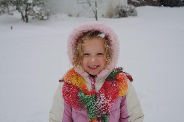 Faith in snow