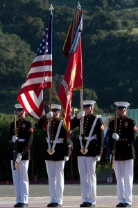 Marine Corps Color Guard