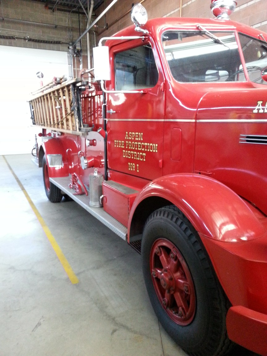Aspen Fire Antique Truck