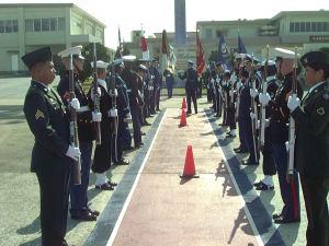 Arrival Honor Cordon