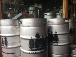 4 Pines Brewery Barrels