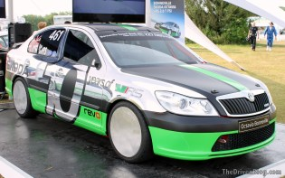 Skoda Octavia vRS Bonneville Goodwood Festival of Speed 2014