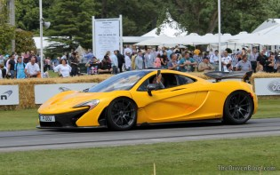 McLaren P1 Goodwood Festival of Speed 2014