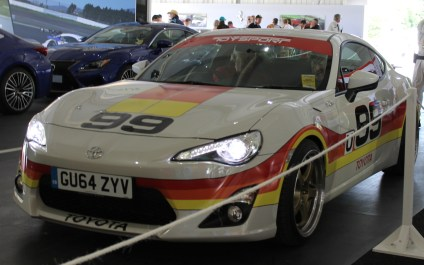 Toyota GT86 IMSA GTU Celica retro livery Goodwood Festival of Speed 2015