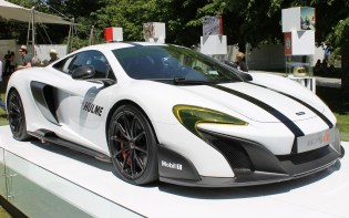 McLaren 675LT Denny Hulme Goodwood Festival of Speed 2015