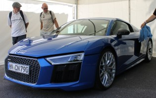 Audi R8 Goodwood Festival of Speed 2015