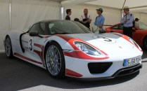 Porsche 918 Spyder Goodwood Festival of Speed 2015