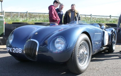 Jaguar C Type 2 Goodwood Breakfast Club Soft Top Sunday May 2016