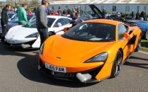 McLaren 570 Goodwood Breakfast Club Soft Top Sunday May 2016