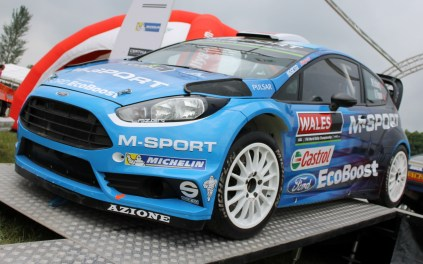 Ford Fiesta M-Sport WRC Cholmondeley Power and Speed 2016