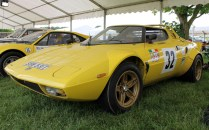 Lancia Stratos rally Cholmondeley Power and Speed 2016