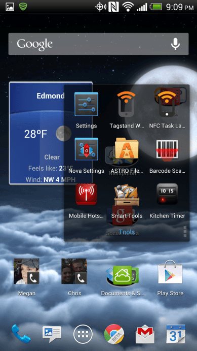 Android App Folders