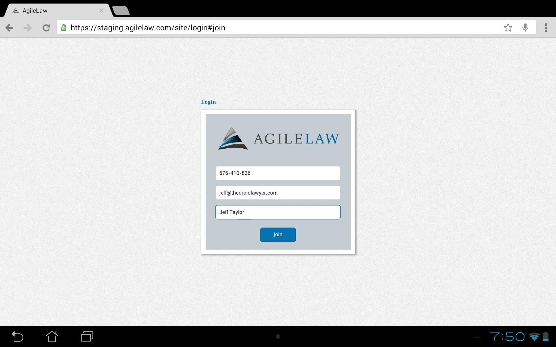AgileLaw Brings Cloud Depositions – The Droid Lawyer
