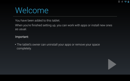 Android Welcome