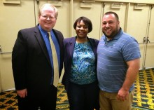 From L to R: Jeff Richardson (iPhone J.D.), Natalie Kelly, and Jeff Taylor