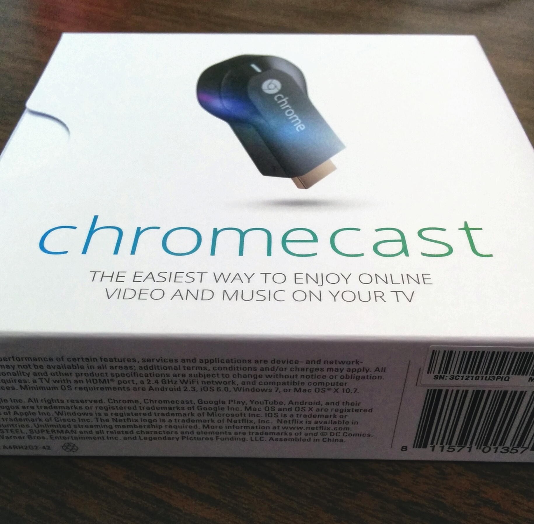 Chromecast in the Courtroom – The Droid Lawyer