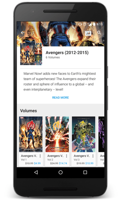 Google Play Comics