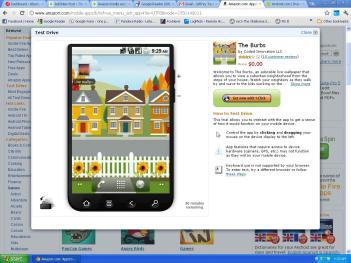 Amazon Appstore for Android Test Drive Screenshot