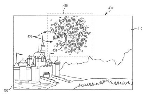 disneyland drone patent