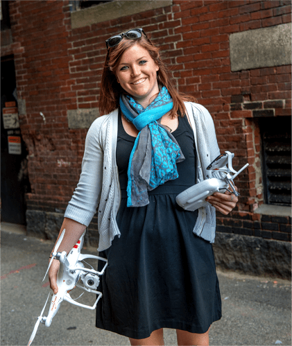 abby Speicher dart drones