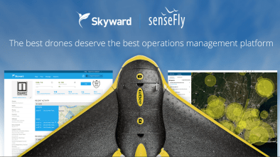 sensefly and skyward