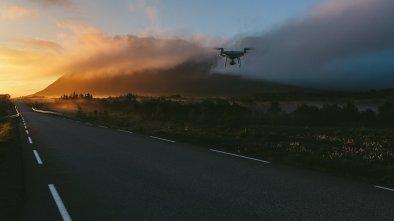 Phantom 4 over Lofoten Islands
