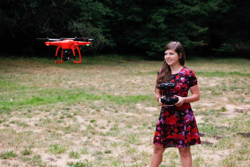 drone girl autel x star review