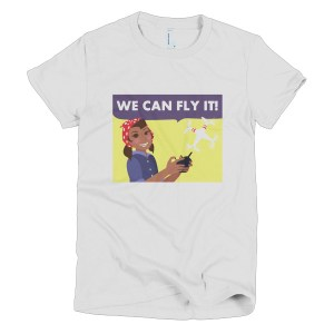 """""""We Can Fly It"""" Short sleeve women's t-shirt"""