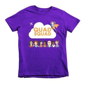 """Quad Squad"" Short sleeve kids t-shirt"