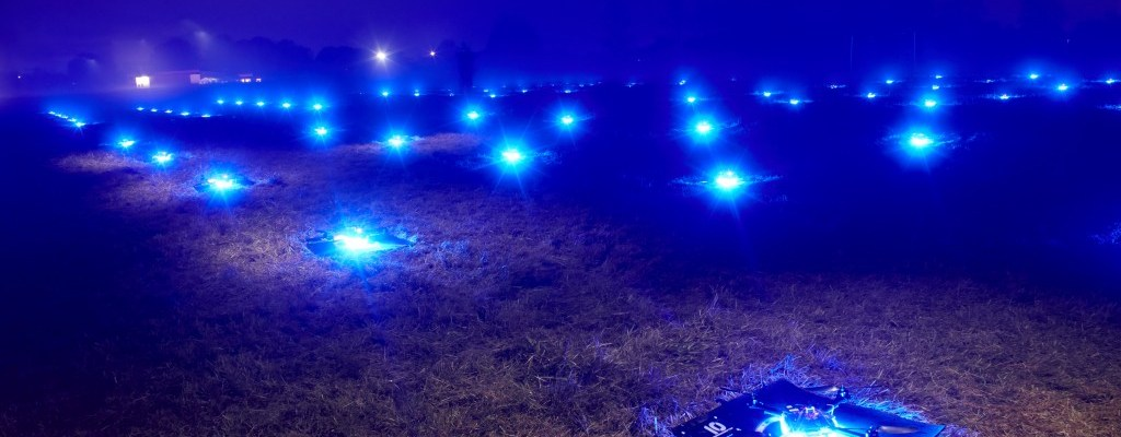 drone night