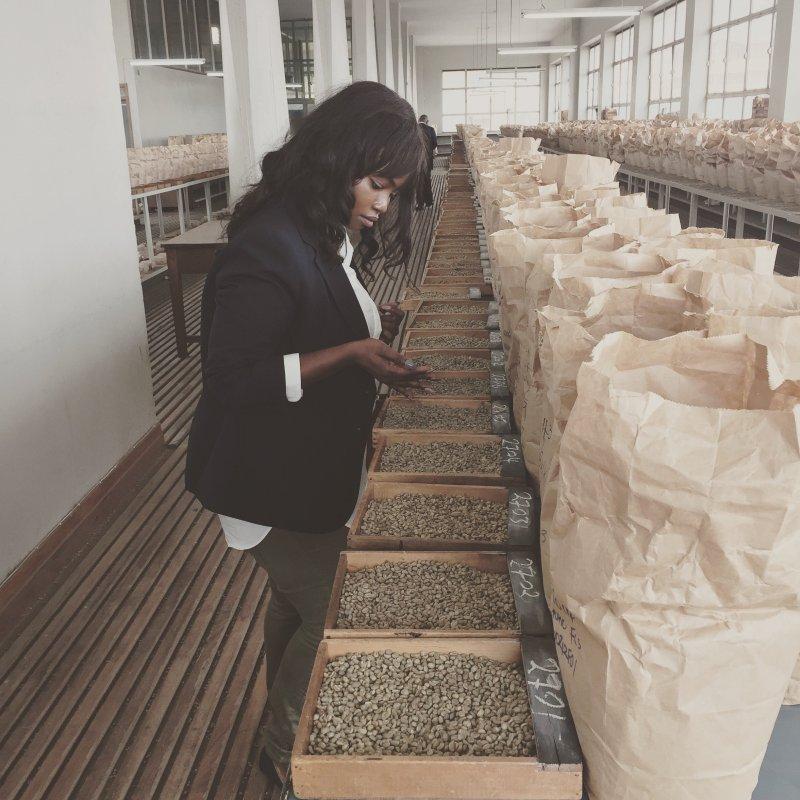 Lyela Mutisya coffee kenya